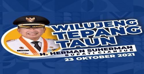 Wilujeng Tepang Taun Bapak Bupati Cianjur