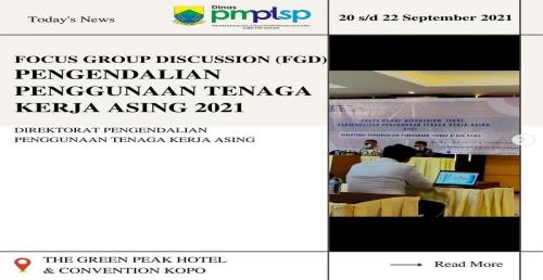 FGD Pengendalian Penggunaan TKA 2021