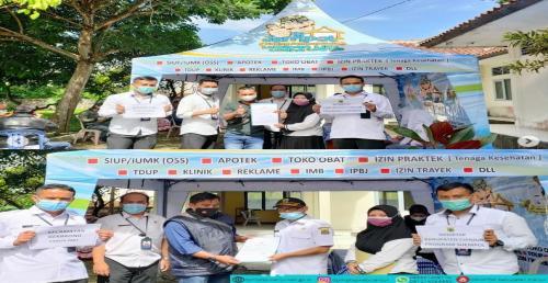 Pelaksanaan kegiatan SIJEMPOL di Kecamatan Gekbrong