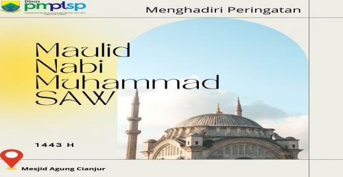 Peringatan Maulid Nabi Muhammad SAW 1443 H